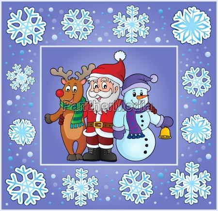 christmas thematics greeting card 8