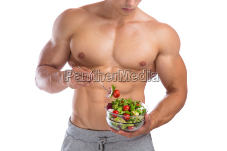 healthy eating salad eating bodybuilding bodybuilder