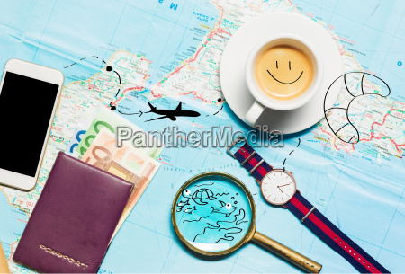 preparation for travel concept map