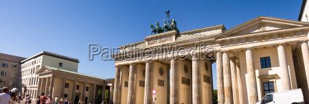 brandenburger tor berlin panorama