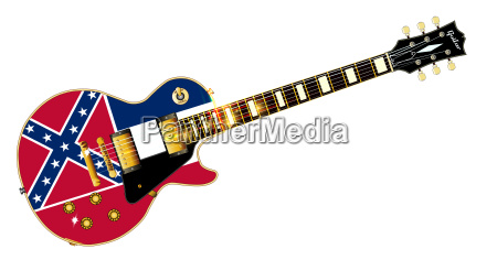 mississippi flag guitar