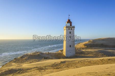 lighthouse and dunes rubjerg knude lokken