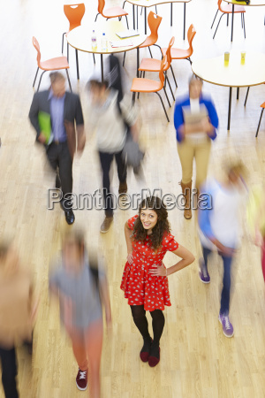 female, pupil, in, classroom, surrounded, by - 19407494