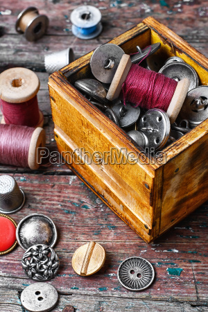 banner, with, large, set, of, threads - 19408454