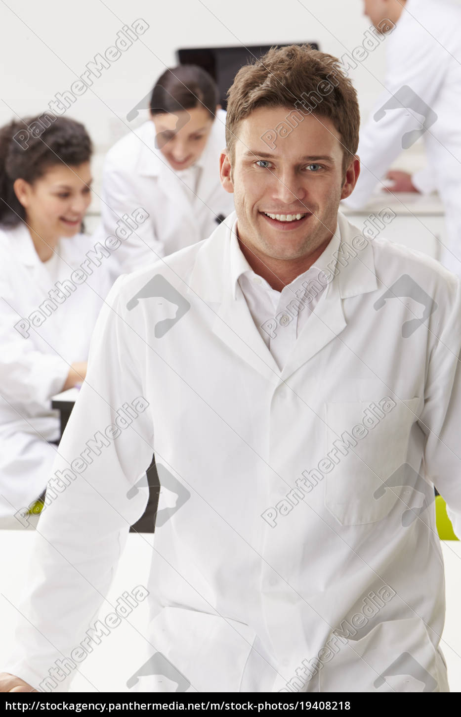 portrait, of, technician, in, laboratory, with - 19408218