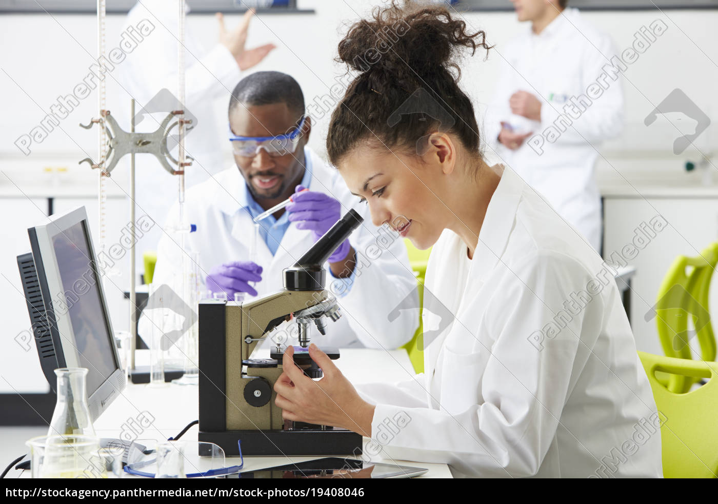 technicians, carrying, out, research, in, laboratory - 19408046