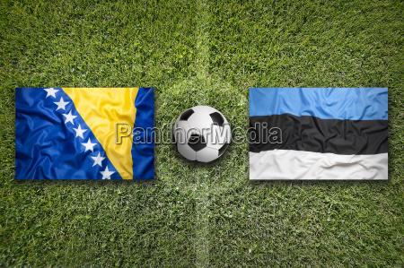 bosnia and herzegovina vs estonia flags