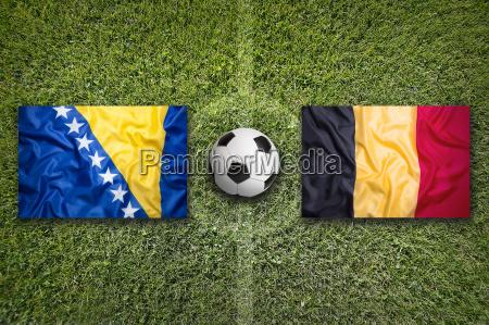 bosnia and herzegovina vs belgium flags