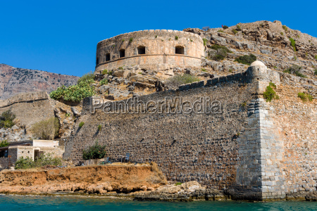 the ruins of the venetian fortress