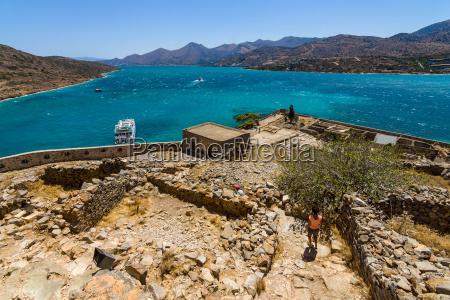 grecia fortaleza golfo isla creta