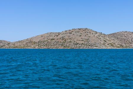 seascape mediterranean sea crete greece