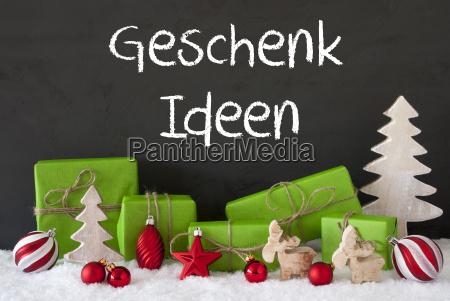 christmas, decoration, , cement, , snow, , geschenk, ideen - 19410466