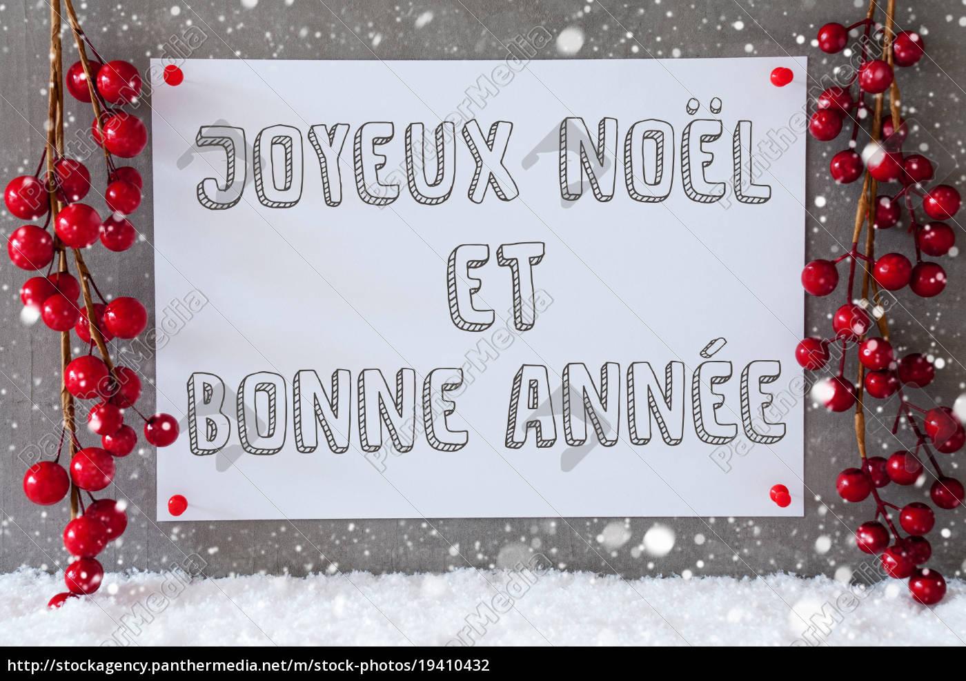 label, , snowflakes, , christmas, decoration, , bonne, annee - 19410432