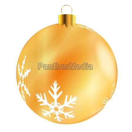 gold tree decoration