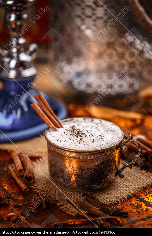 chai, , a, rich, and, creamy, mixture - 19413166