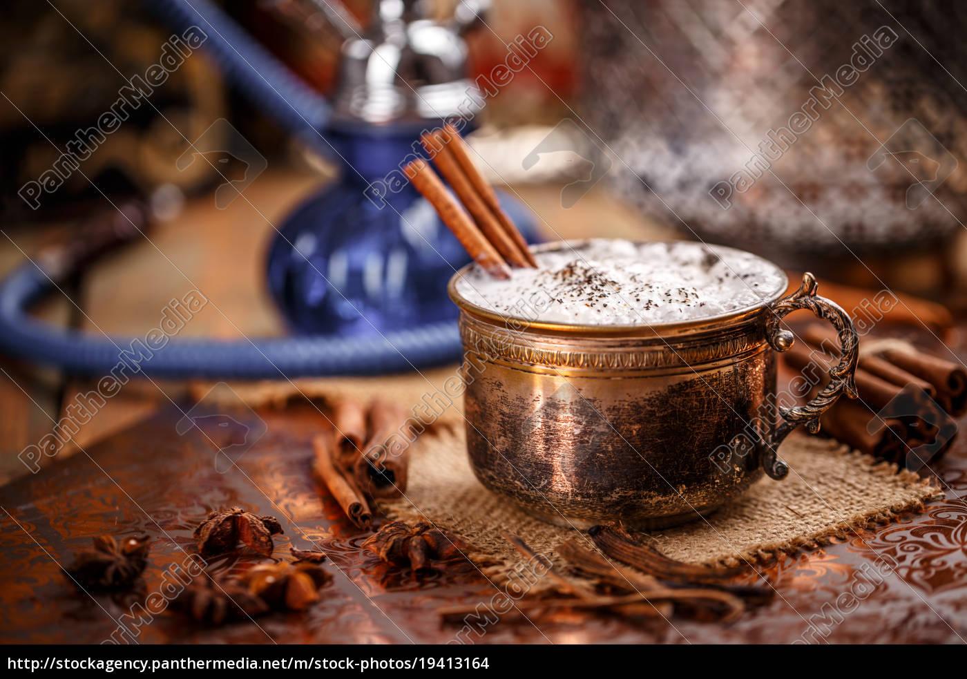 chai, latte, spiced, tea - 19413164