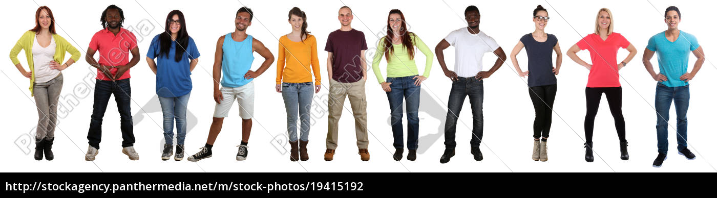 young, people, people, group, laugh, whole - 19415192