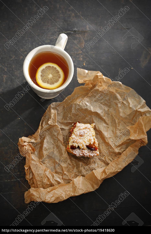 tea, and, cake. - 19418630