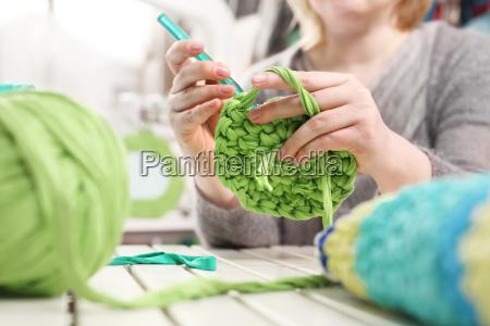 needlework knitting crochet