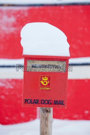 a post box beside the noorderlicht