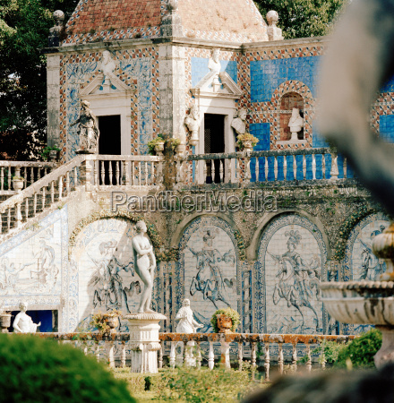 azulejos a form of portuguese painted