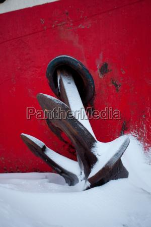 anchor of the noorderlicht a dutch
