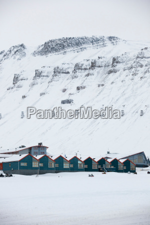 the town of longyearbyen the largest