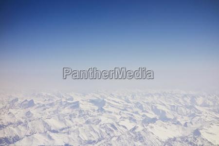 birdseye view of german alps south