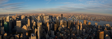 panoramic, view, from, empire, state, building, - 19458670