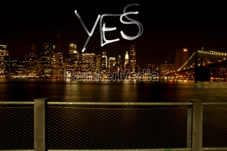 yes written by light trail at