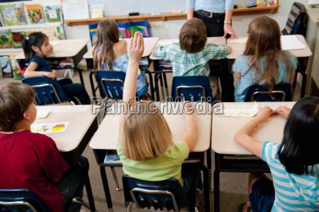 elementary school class participation