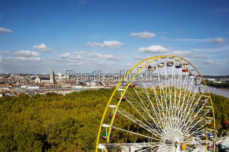 ferris wheel bordeaux france