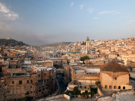 view of the medina including the