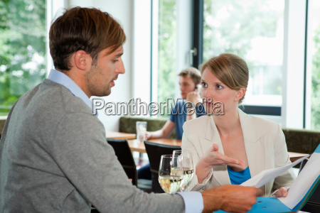 business, people, having, lunch, meeting - 19509074