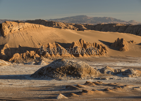 view from sand dune duna mayor