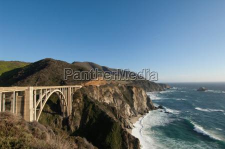 bixby bridge on highway 1 big