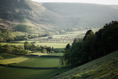a valley in early summer early