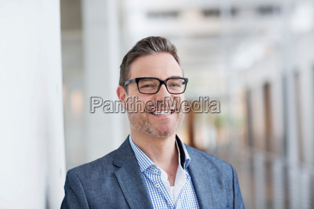 man with toothy smile