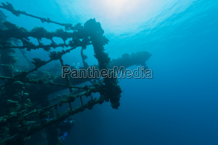 sunken ship wreck underwater diving sudan