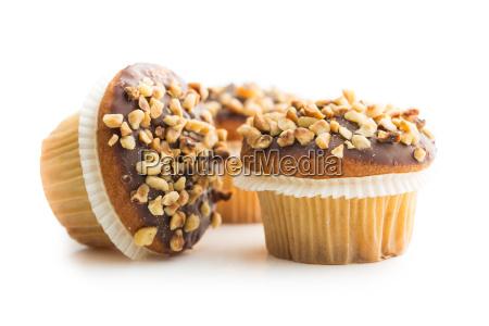 sweet hazelnut muffins
