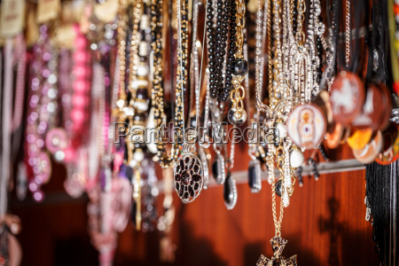 bunch of necklaces
