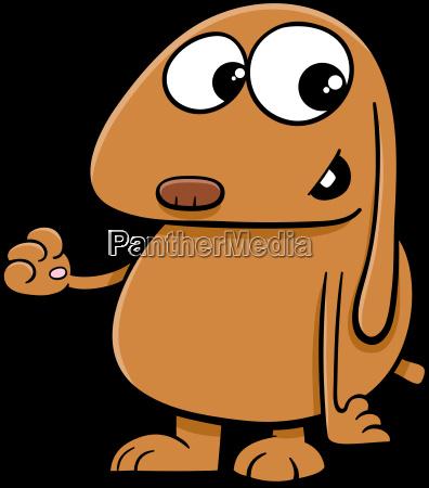 dog cartoon character