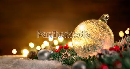 transparent, christmas, ball, and, christmas, decoration - 19608309
