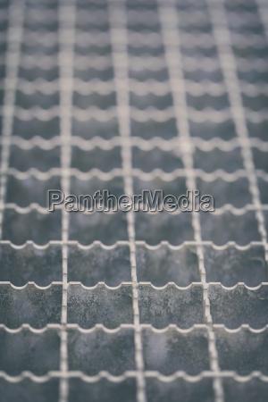 metal grid step grille