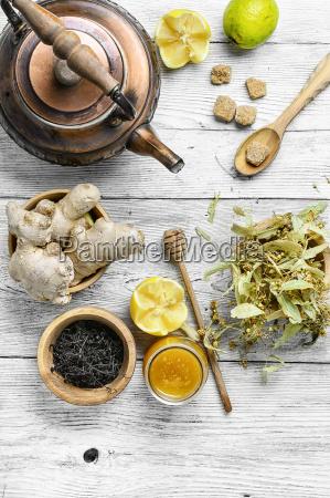 winter cough tea