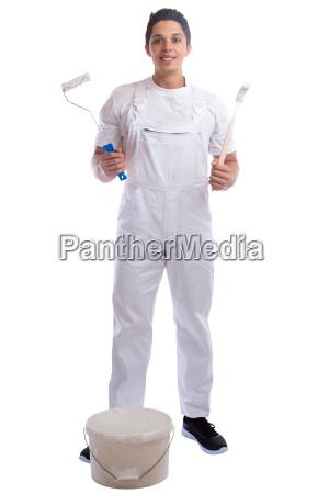 painter profession craftsman apprentice trainee whole