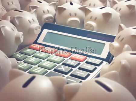 piggy bank finance calculator