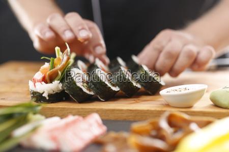 restauracja japonska sushi