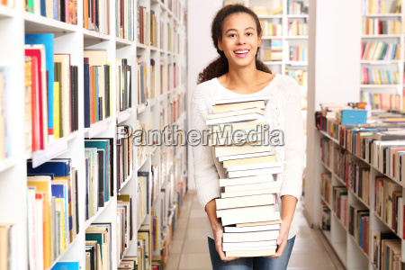 university library renting books in the