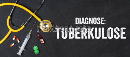 stethoscope and medication tuberculosis